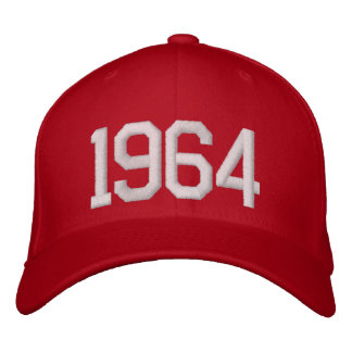 1964 Year Embroidered Hat