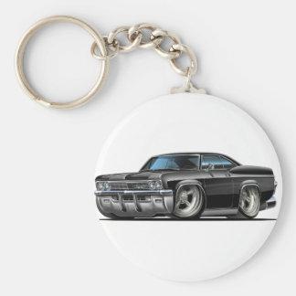 1965-66 Impala Black Car Keychain