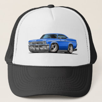 1965-66 Impala Blue Car Trucker Hat