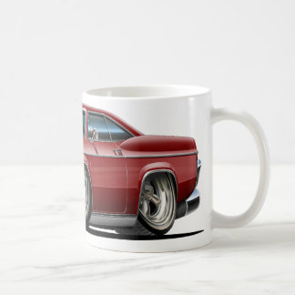 1965-66 Impala Maroon Car Coffee Mug