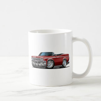 1965-66 Impala Maroon Convertible Coffee Mug