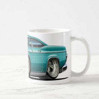 1965-66 Impala Teal Car Coffee Mug