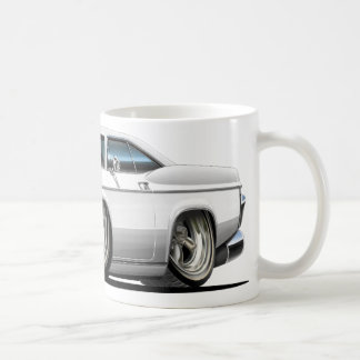 1965-66 Impala White Car Coffee Mug