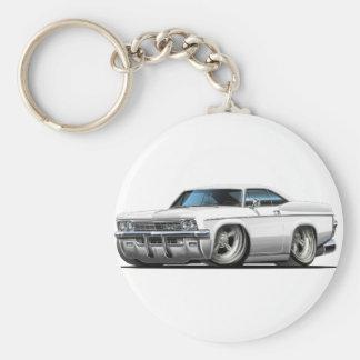 1965-66 Impala White Car Keychain