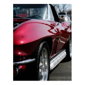 1965 Chevy Corvette Postcard