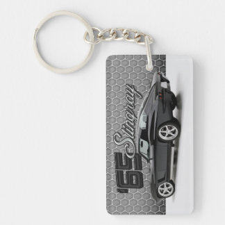 1965 Chevy Corvette Vette Stingray 396 Classic Car Keychain