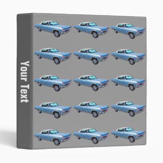 1965 Chevy Impala 327 Convertible Vinyl Binder