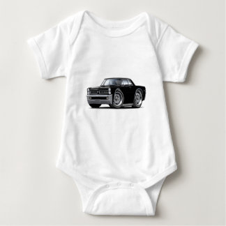 1965 GTO Black Car Baby Bodysuit