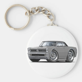 1965 GTO Grey-Black Top Keychain