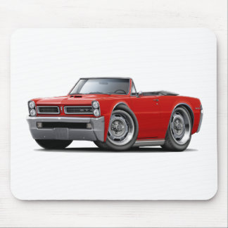 1965 GTO Red Convertible Mouse Pad