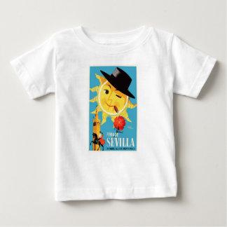 1965 Seville Spain April Fair Poster Baby T-Shirt