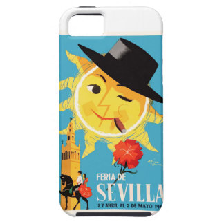 1965 Seville Spain April Fair Poster iPhone 5 Cover