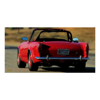 1965 SUNBEAM TIGER 289 POSTER
