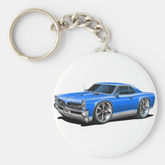 1966/67 GTO Blue Car Keychain