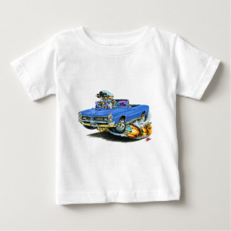 1966-67 GTO Blue Convertible Baby T-Shirt
