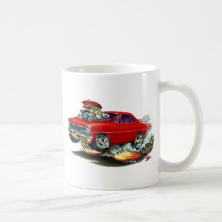 1966-67 Nova Red Car Coffee Mug
