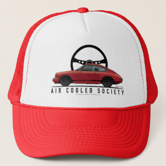 1966 911 Polo Red Seth Oestreicher Trucker Hat
