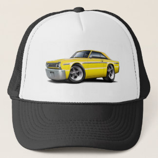 1966 Belvedere Yellow Car Trucker Hat