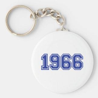 1966 Birthday Keychain