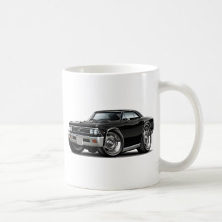 1966 Chevelle Black Car Coffee Mug