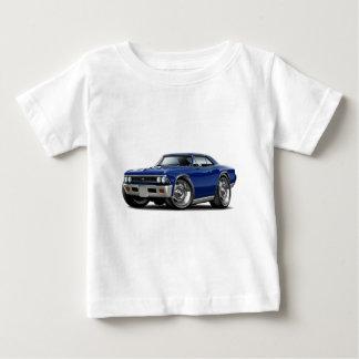 1966 Chevelle Dark Blue Car Baby T-Shirt