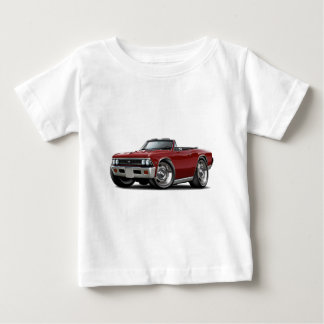1966 Chevelle Maroon Convertible Baby T-Shirt