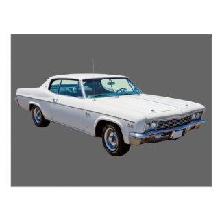 1966 Chevrolet Caprice 427 Muscle Car Postcard