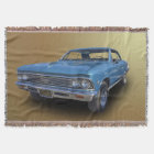 1966 CHEVROLET CHEVELLE THROW BLANKET