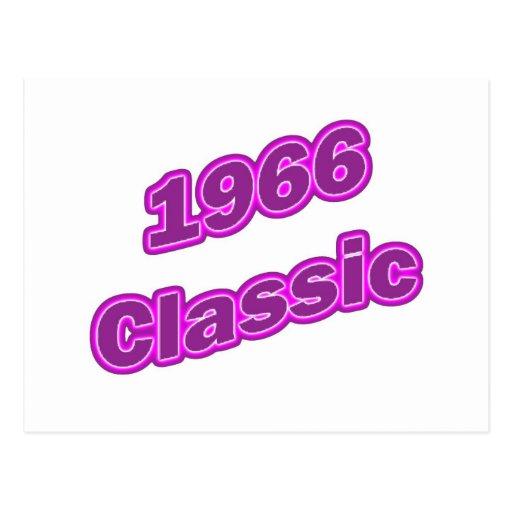 1966 Classic Purple Postcards