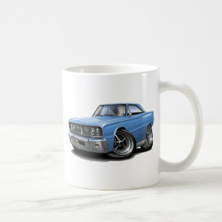 1966 Coronet Lt Blue Car Coffee Mug