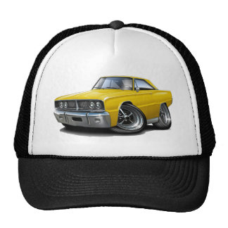 1966 Coronet Yellow Car Trucker Hat