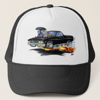 1966 El Camino Black Truck Trucker Hat