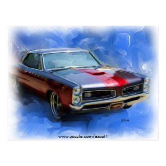 1966 GTO POSTCARD