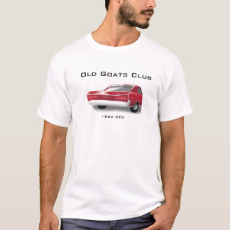 "1966 GTO T-shiirt with ""Old Goats Club"" T-Shirt"