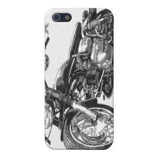 1966 Harley Davidson Sprint Vintage Motorcycle iPh iPhone 5/5S Covers