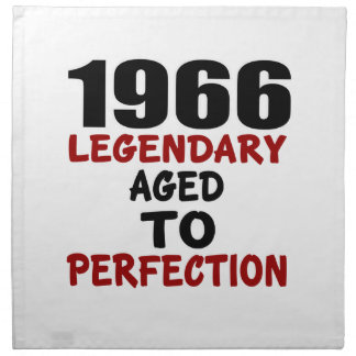 1966 LEGENDARY AGED TO PERFECTION NAPKIN