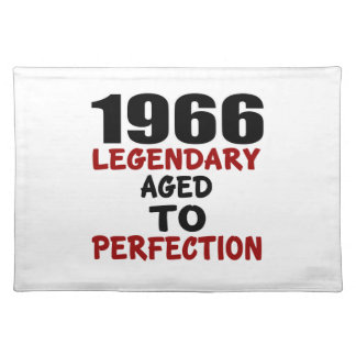 1966 LEGENDARY AGED TO PERFECTION PLACEMAT