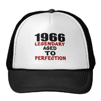 1966 LEGENDARY AGED TO PERFECTION TRUCKER HAT
