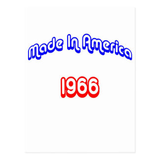 1966 Made In America Post Card