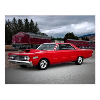 1966 Mercury Monterey Classic Car Postcard