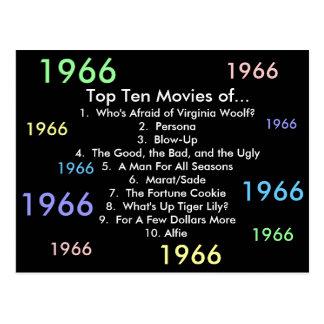 1966 Movies Postcard