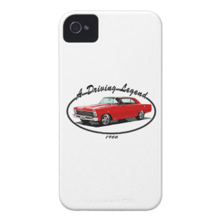 1966_nova_red iPhone 4 cover