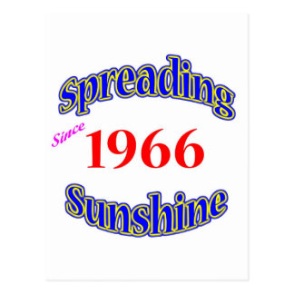 1966 Spreading Sunshine Post Cards