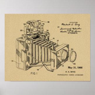 1966 Vintage Camera Patent Art Drawing Print