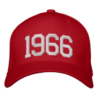 1966 Year Embroidered Baseball Cap