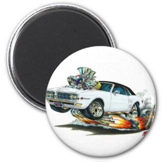 1967-68 Firebird White-Black Top Magnet