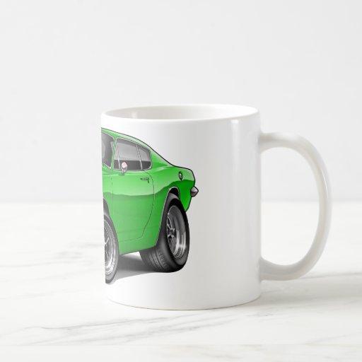 1967-69 Barracuda Lime Car Mugs