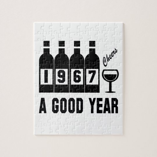 1967 A Good Year Jigsaw Puzzle