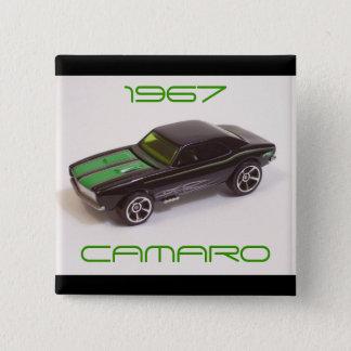 1967 Camaro 2 Inch Square Button