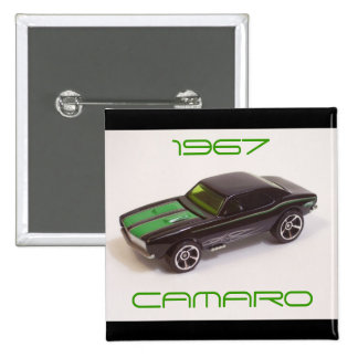 1967 Camaro 2 Inch Square Button